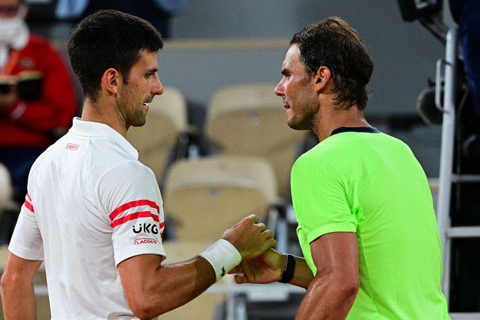Djokovic en Nadal.