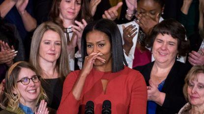 """Michelle Obama steunt scholieren Florida: """"Het hervormen van wapenwetten vereist moed en doorzettingsvermogen"""""""