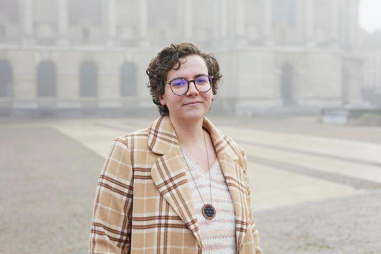 Pauline Harmange: 'In een feministische samenleving komen mannen ook meer tot hun recht; die stelt hen in staat empathischer te zijn en meer te luisteren.' Beeld Ksenia Kuleshova