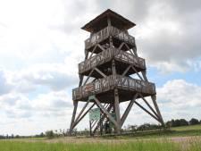 Uitkijktoren bij Neede doelwit vandalen