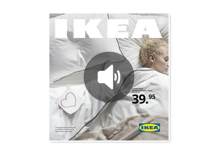 Luistereditie van de Ikea-catalogus. Beeld Ikea