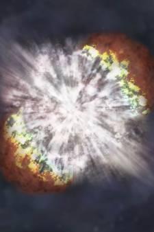 L'explosion d'une étoile capturée en détail pour la première fois