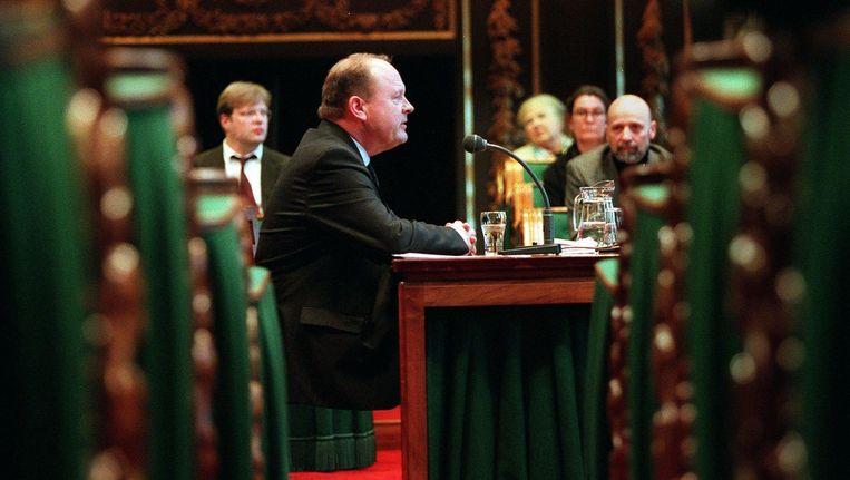 Hans Vrakking in 1999. Beeld anp