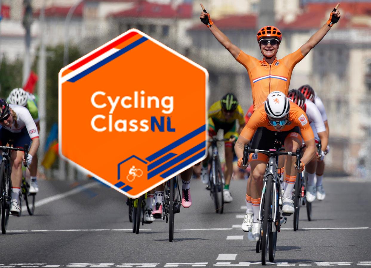 Lorena Wiebes en Marianne Vos na wéér een Nedertlands wielersucces.