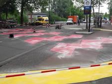 Opvallende 'streettattoos' voor Vestdijk in Eindhoven