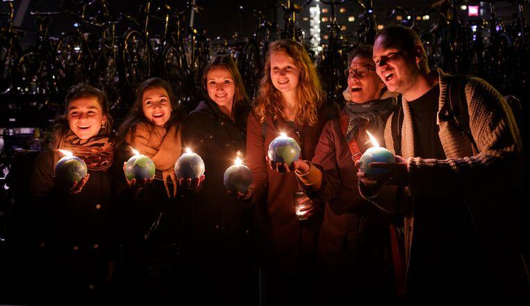 Earth Hour van WNF. Beeld geen credit