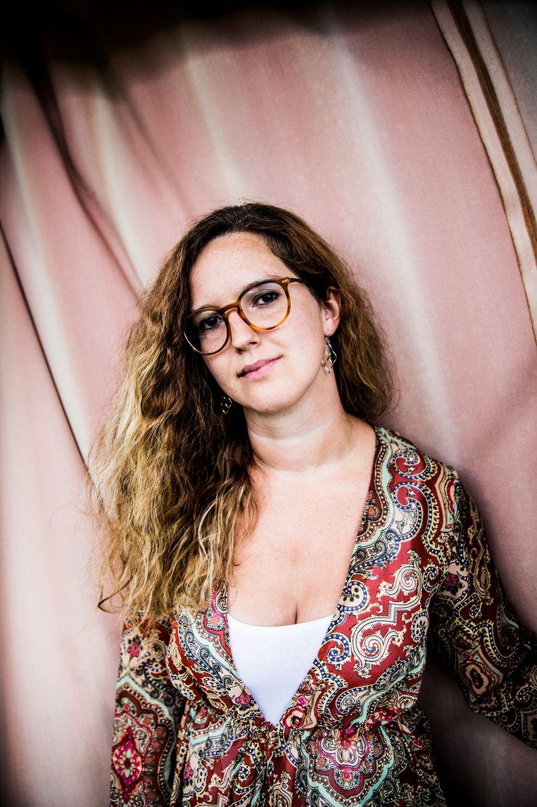 Aryane Cools: 'Emotioneel wilden wij geen afscheid nemen van ons kind. Maar rationeel was dit de beste keuze.' Beeld Aurélie Geurts