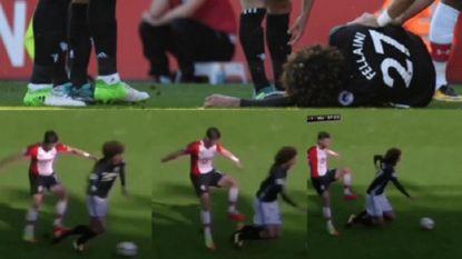 De aanslag op de enkel van Fellaini die hem CL-match in Moskou kost (en ook voor Kompany is er slecht nieuws)