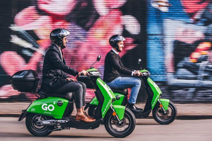 GO Sharing start vandaag met het plaatsen van 400 deelscooters in Antwerpen.