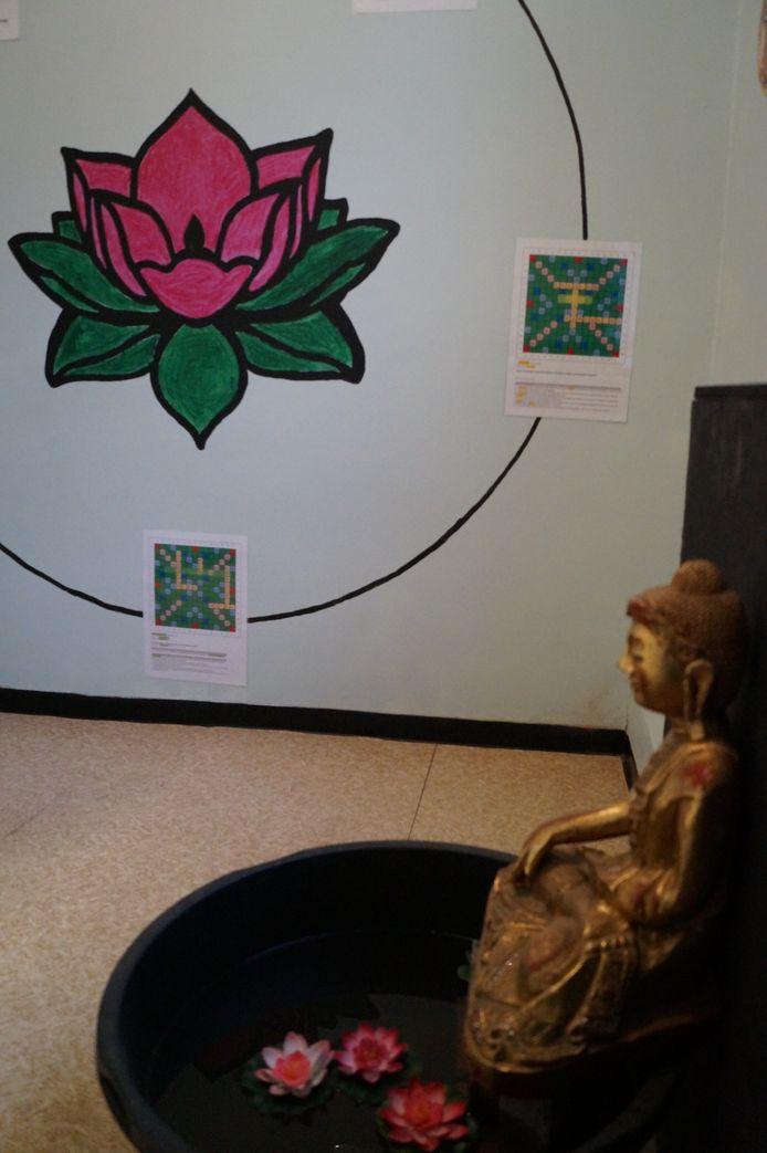 De kamer van het boeddhisme