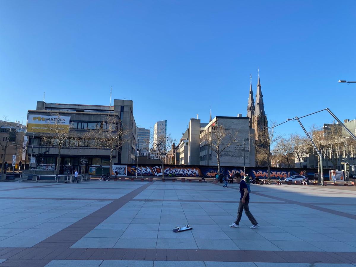 Het Stadhuisplein in Eindhoven.