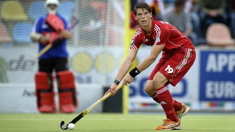 Felix Denayer aan de slag met de nationale ploeg. Beeld UNKNOWN