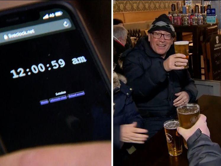 Engelsen tellen samen af: ze mogen weer naar de pub