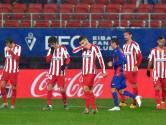 Atlético Madrid moet opnieuw tegenslag verwerken