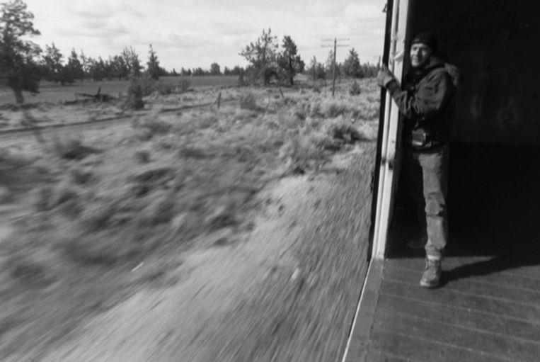 Jan in boxcar Beeld Stephan Vanfleteren