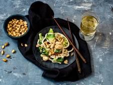 Wat Eten We Vandaag: Udonnoedels met kabeljauw in teriyakisaus