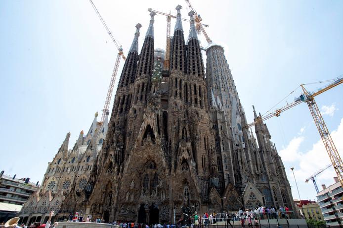De Sagrada Familia is volgens de laatste plannen in 2026 klaar.