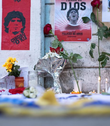 Buenos Aires en Napels treuren na de dood van volksheld Maradona