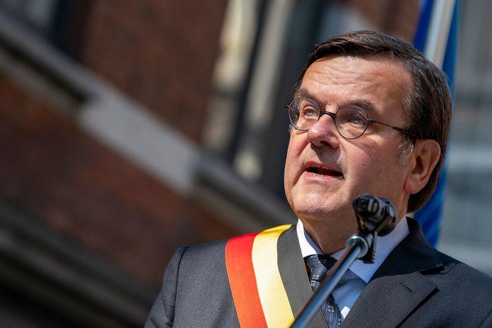 Willy Demeyer, bourgmestre de Liège.