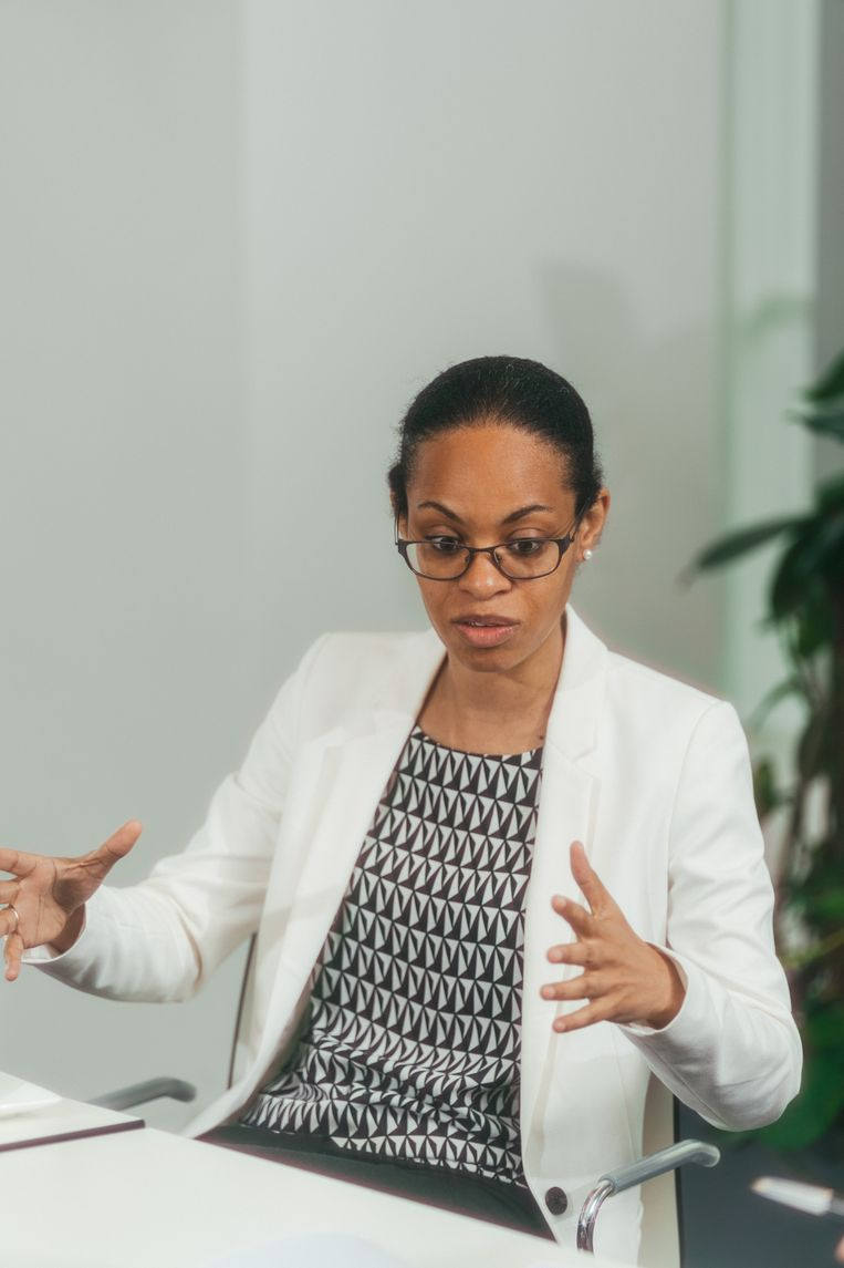 Nadia Nsayi: 'Vrienden van mij zijn al verhuisd naar andere landen omdat hun talent hier niet werd benut.' Beeld Illias Teirlinck