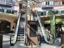 Ook roltrappen in winkelcentrum Arena buiten bedrijf, wateroverlast zorgt voor ernstige beschadigingen