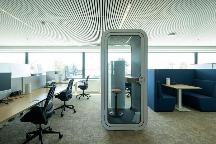 Officiële opening van de nieuwe kantoren van Alcon.
