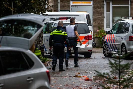 Politie bij de forensisch psychiatrische kliniek Altrecht Aventurijn.