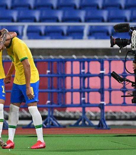 Olympisch voetbal: Ajacied Antony met Brazilië te sterk voor Duitsland, pak slaag Frankrijk