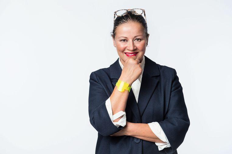 Klara-netmanager Chantal Pattyn.  Beeld © VRT Joost Joossen