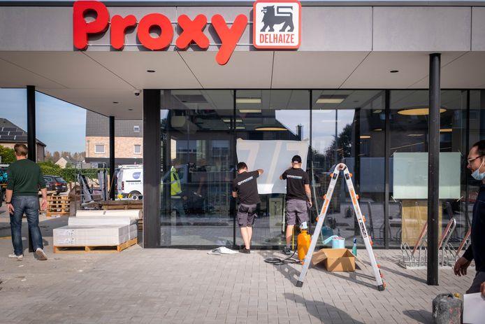 De nieuwe Proxy Delhaize in Leest heropent donderdag de deuren.