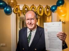 Mijlpaal voor notaris Jan Jaap Suwijn uit Hengelo: 40.000 aktes ondertekend