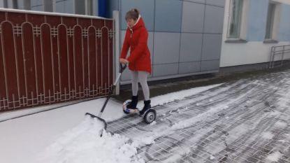 Vlot sneeuwruimen doe je zo (op eigen risico)