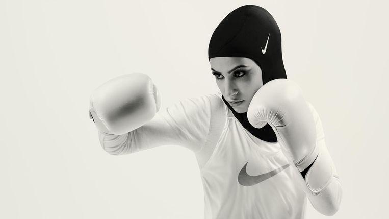 Duitse bokser Zeina Nassar.