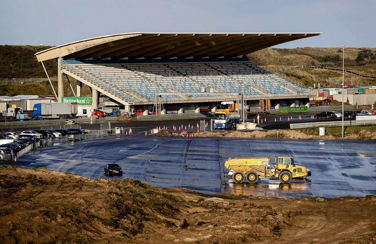 Het circuit van Zandvoort wordt gerenoveerd. Beeld EPA
