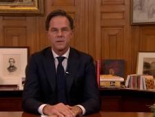 Rutte kondigt 'onvermijdelijke' lockdown aan en haalt tijdens speech uit naar activisten