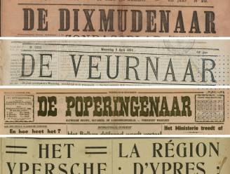 Digitale kiosk 'Historische Kranten' breidt uit met Veurnse en Diksmuidse bladen