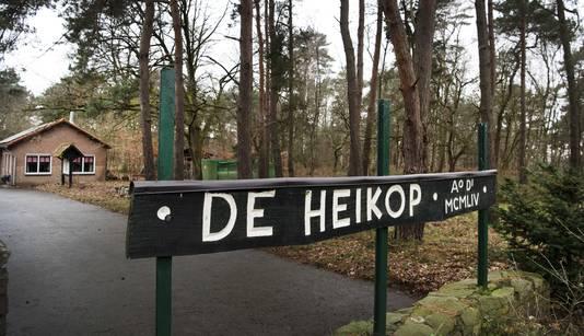 Buitencentrum De Heikop waar Nicky op zomerkamp was in augustus 1998.