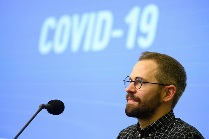 Antoine Iseux, porte-parole du Centre de crise.