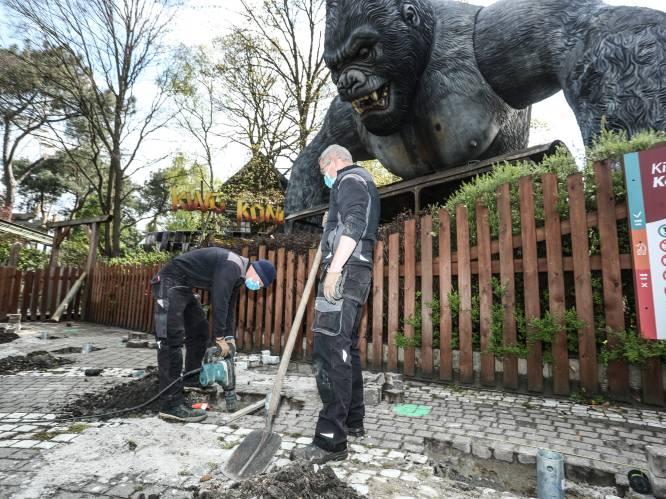 """Bobbejaanland wapent zich tegen corona: """"Op attracties mondmaskerplicht vanaf 6 jaar"""""""