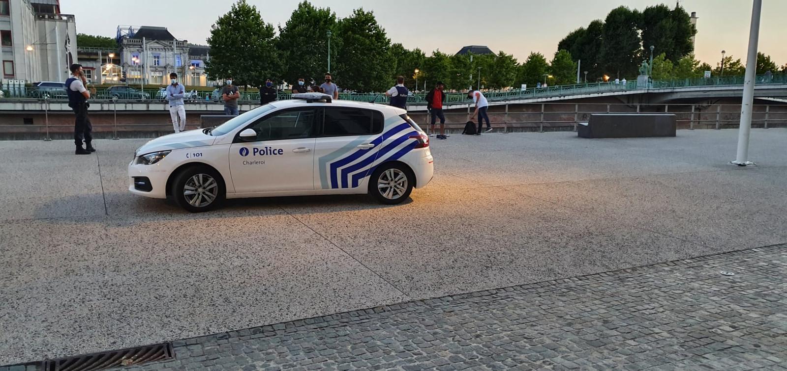 Nouvelle opération de police contre le deal de rue à Charleroi