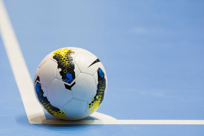 Zaalvoetbal. Foto: Pro Shots / Kay Int Veen