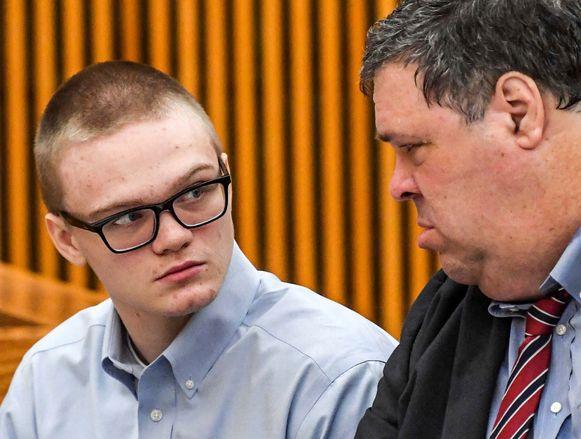 Jesse Osborne en zijn advocaat Frank Eppes.