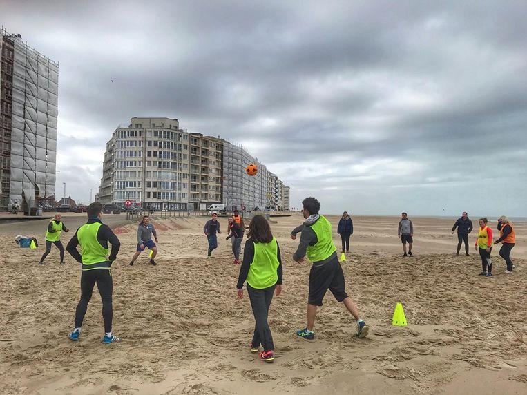 Decathlon organiseert een sportactiviteit om kandidaten te testen voor de nieuwe winkel in Oostende.