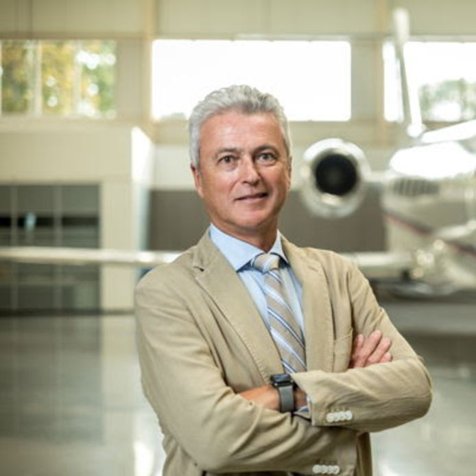 Bernard Van Milders, stichter-voorzitter van Flying Group.