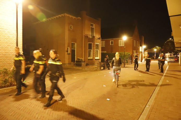 Politie op de been in Boxmeer.