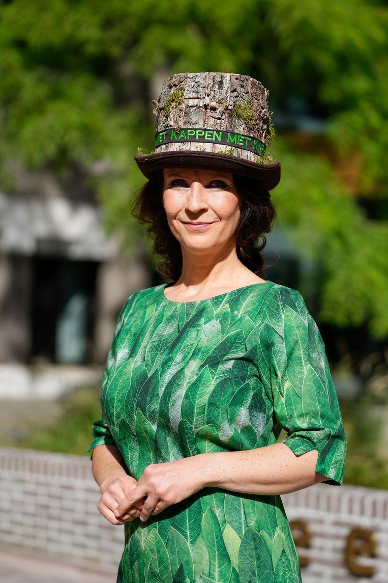 Esther Ouwehand van Partij voor de Dieren. Beeld Hollandse Hoogte /  ANP
