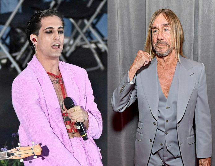 Måneskin heeft een samenwerking beet met Iggy Pop.