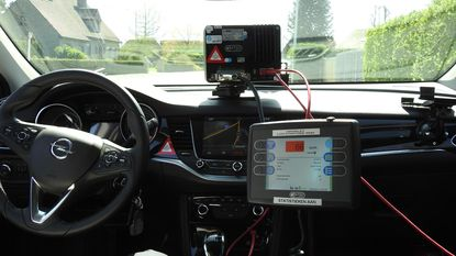 Politie flitst met infraroodcamera