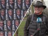 Verkiezingsbord Geldrop hangt vol met Geert Wilders: 'Grappig en dom tegelijk'