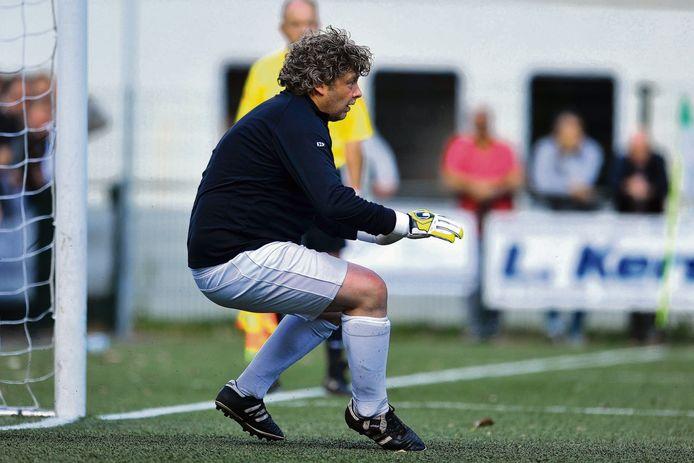 Arjan Fokkink tijdens de strafschoppenreeks.